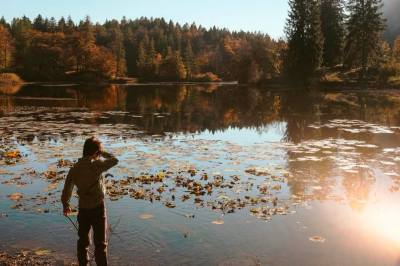 boy lake
